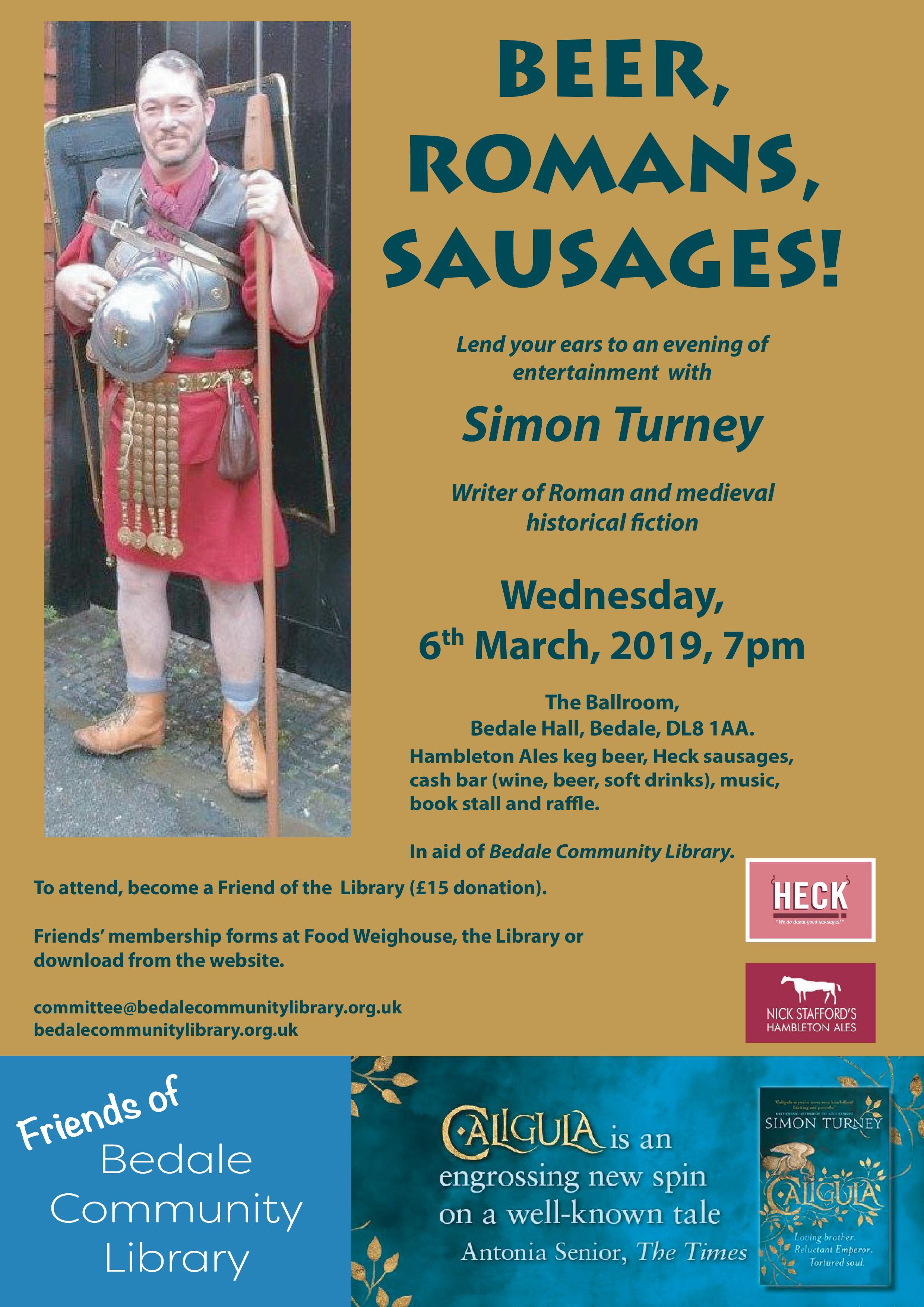 Simon Turney poster